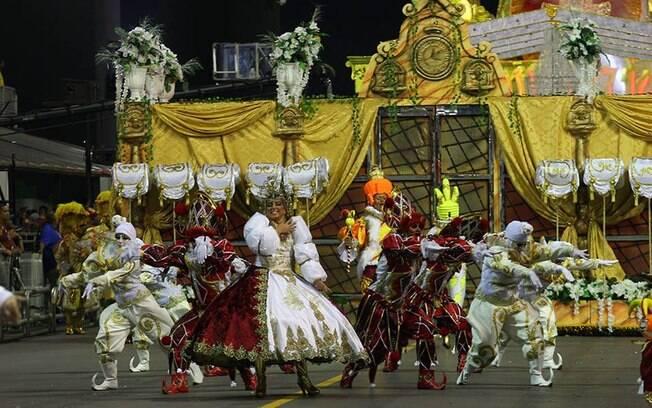 A Tom Maior fechou a primeira noite de desfiles do carnaval de São Paulo