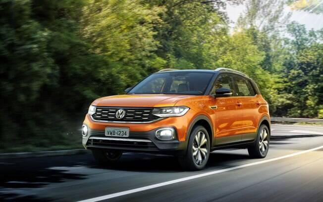 VW T-Cross  tem boa  dinâmica em qualquer situação e sem prejudicar o conforto e a valentia ao passar por obstáculos