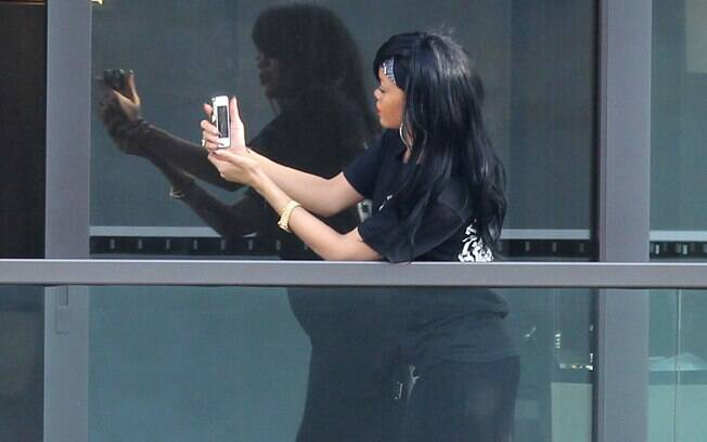 A cantora está hospedada em um hotel em Sydney, Austrália