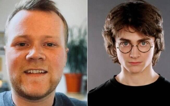 O inglês Harry Potter, nasceu antes da autora J.K. Rowling lançar a saga do bruxinho Harry Potter
