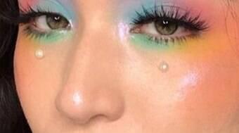 Arco-íris: fique por dentro da tendência dos olhos coloridos