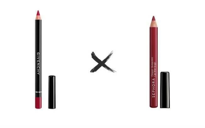 Lápis Labial Crayon Levres vs. Lápis Labial Lip Liner To Go