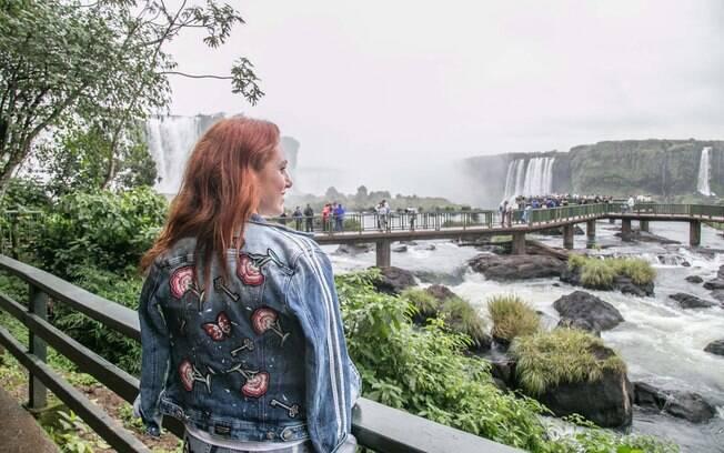 Ensaio para Damyller em Cataratas do Iguaçu
