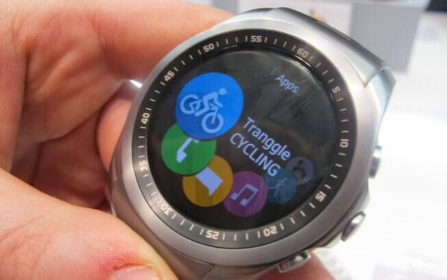 810795cbc63 LG Watch Urbane tem uma versão 4G com sistema próprio da sul-coreana. Foto