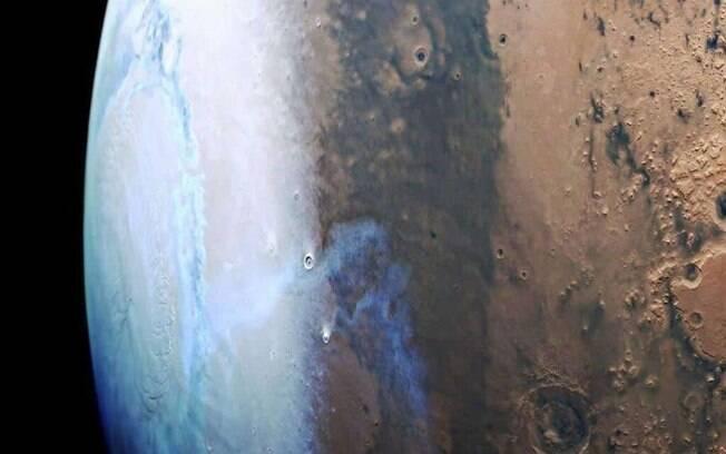 """Marte está """"vazando"""" e perdendo água para o espaço"""