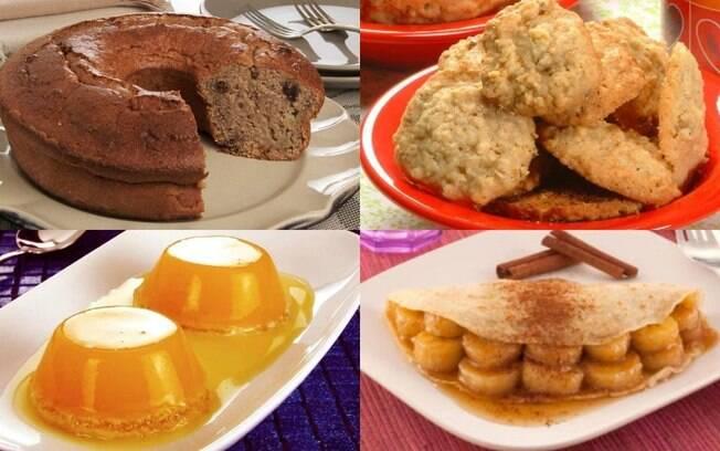 Saborosas e saudáveis: experimente 8 receitas doces com aveia