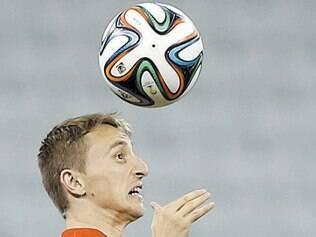 """Modric será uma das """"armas"""" croatas na partida contra Camarões"""