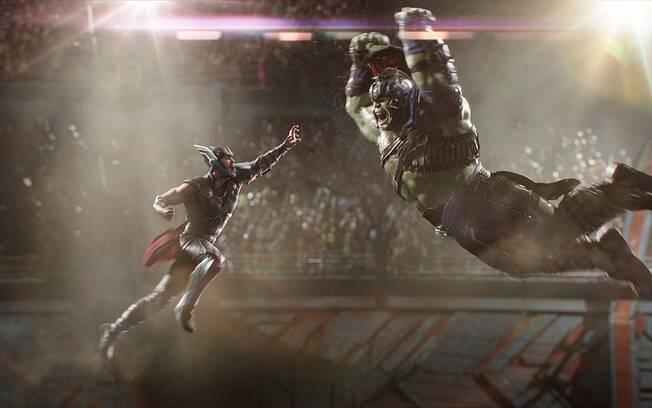Cena de Thor: Ragnarok, que estreia nesta quinta-feira (26) nos cinemas do País