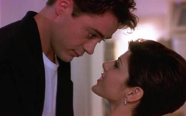 Com Marisa Tomei em 'Só Você' (1994). Foto: Divulgação