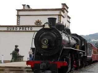 ouro preto de trem