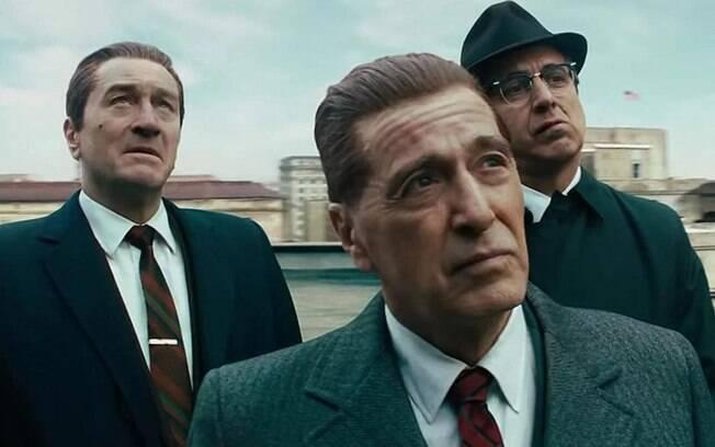 Pesci, Pacino e De Niro em