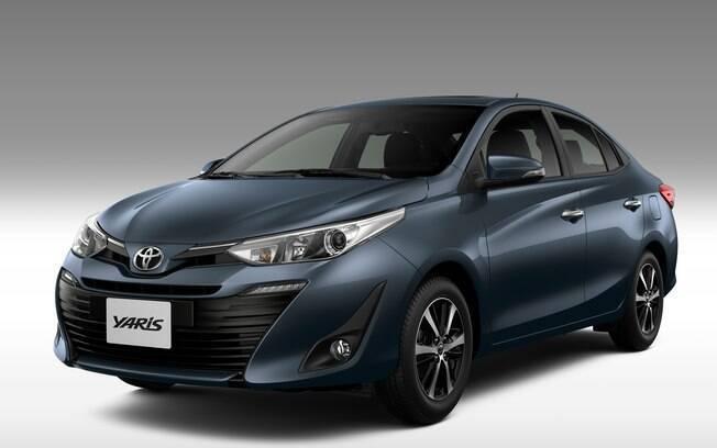 Toyota Yaris Sedan: imagem oficial enviada pela fabricante mostra detalhes de como será a versão nacional
