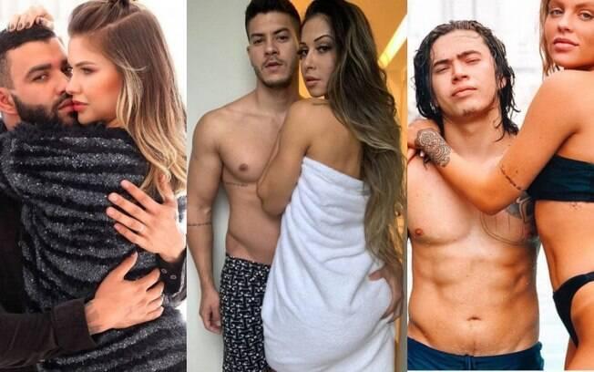 Gusttavo Lima e Andressa Suita, Mayra Cardi e Arthur Aguiar e Luísa Sonza e Whindersson Nunes protagonizaram algumas das separações de famosos mais comentadas do ano