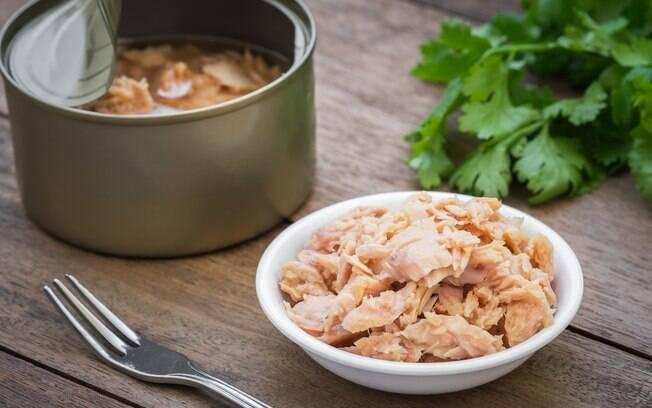 Atum em lata está na lista de alimentos processados
