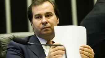 Assessores do Planalto agem como marginais, diz Maia
