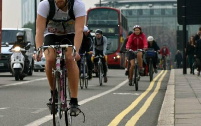 Bicicleta pode ser um ótimo meio de transporte