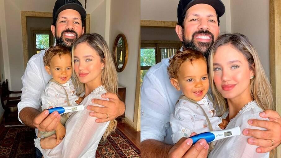 Sorocaba e Biah Rodrigues anunciam a chegada de mais um filho