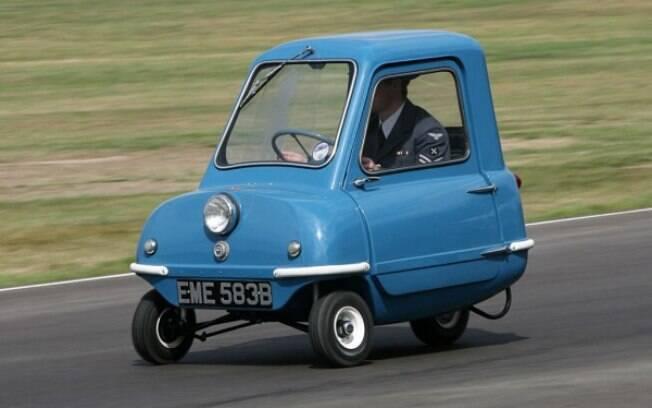 Lenda entre os carros pequenos, o Peel P50 ficou mais famoso depois da participação especial no programa britânico Top Gear