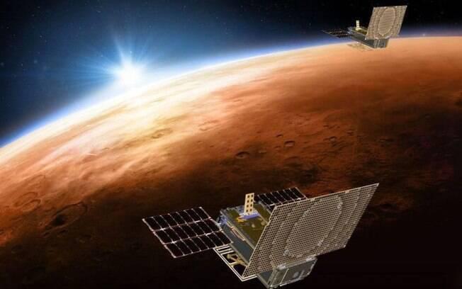 Marte está entre os planetas que podem ser visitados online no Google Earth