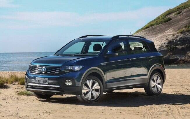 VW T-Cross azul