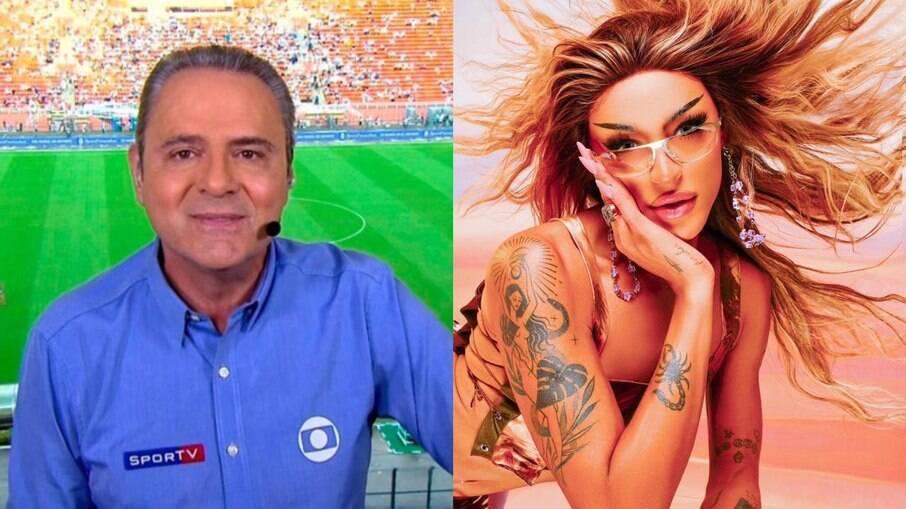 Luis Roberto agradece Pabllo Vittar por 'ajuda' nas Olimpíadas
