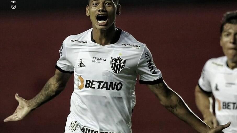 Marrony garantiu a vitória do Atlético-MG no Recife