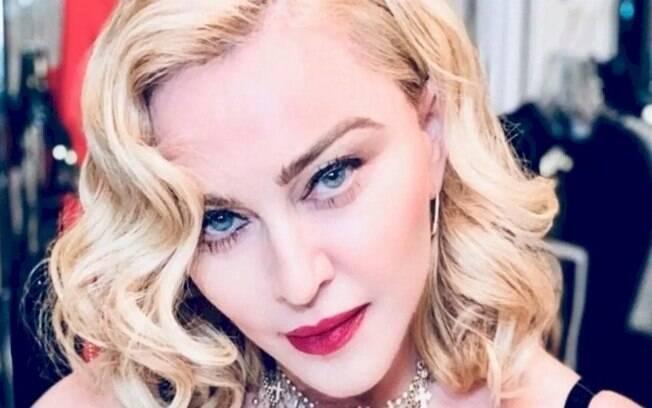 Madonna posta vídeo divertido com filtro de ator brasileiro no Instagram