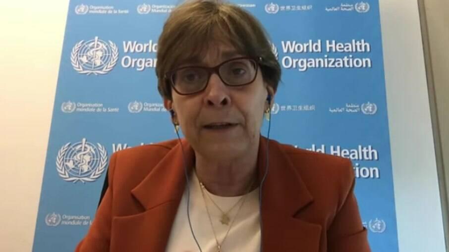 Mariângela Simão, diretora adjunta da Organização Mundial da Saúde (OMS)