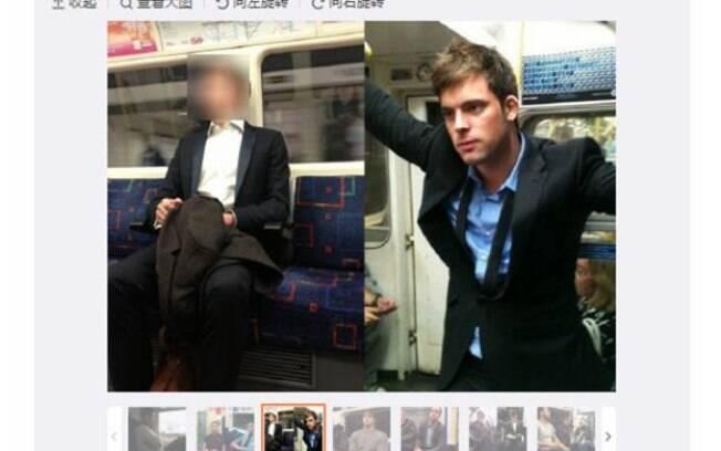 Imagens foram retiradas de site britânico que permite a usuários postar fotos de passageiros do sexo masculino que julguem atraentes