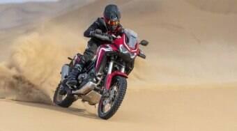 Honda mostra a nova linha 2021 da aventureira Africa Twin; confira