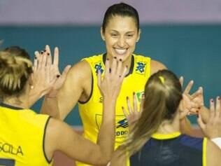 Brasil conseguiu bom resultado diante das anfitriãs