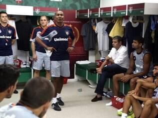 Cristóvão tem primeiro contato com o grupo tricolor. Estreia será contra o Horizonte-CE, pela Copa do Brasil