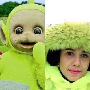 Dipsy e Paula Fernandes