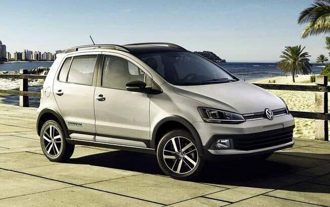 O Volkswagen CrossFox terá uma edição especial chamada Urban White, que reforça o aspecto aventureiro do hatchback.