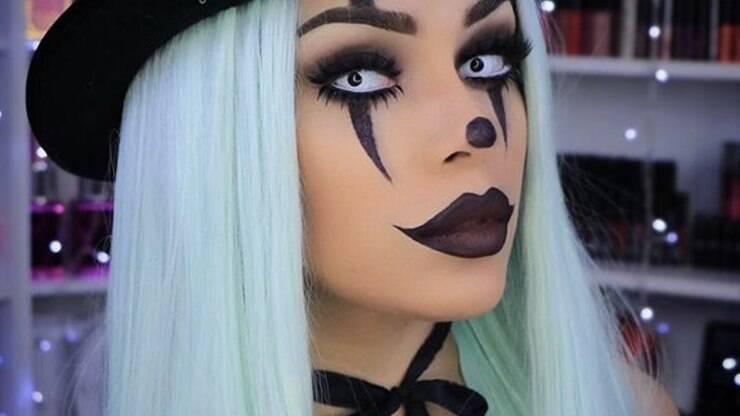 Maquiagem De Halloween Aproveite Para Ousar Como Nunca Amanda