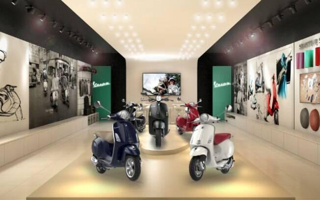 Piaggio Vespa vai inaugurar loja no Shopping JK Iguatemi no dia 22. Em novembro,  abrirão outras nas ruas de São Paulo