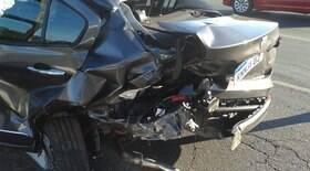 Motorista de BMW causa acidente, deixa idoso ferido e foge em MG