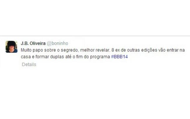 Boninho diz que oito participantes retornam ao programa
