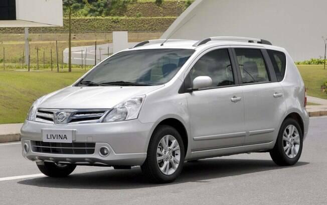 Nissan Livina sai da linha de montagem da marca japonesa em São José dos Pinhais (SP) até meados de 2015