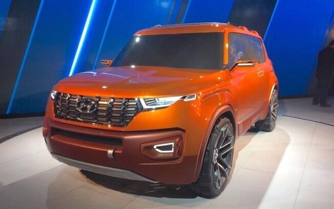 Hyundai Carlino: protótipo poderá ter alguns traços do novo SUV da Hyundai que está a caminho