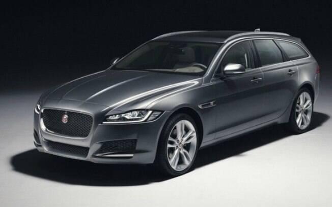 Todo o charme e paixão da marca inglesa Jaguar está presente na bela station wagon XF Sportbrake