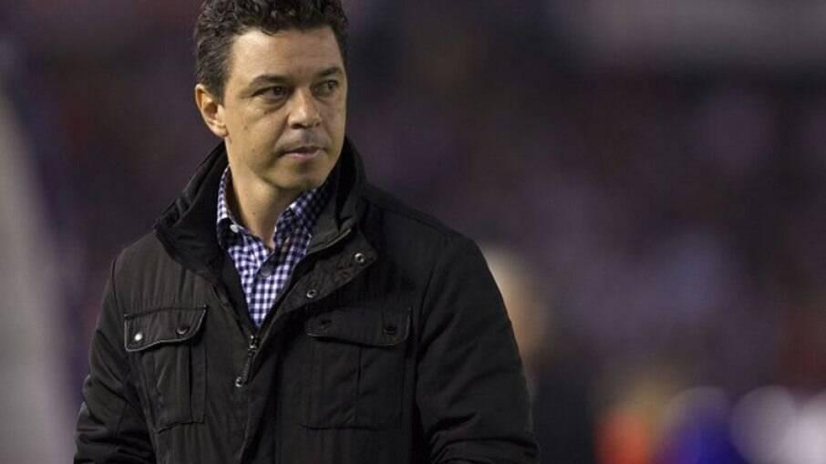 Gallardo comentou possibilidade de assumir o Barcelona