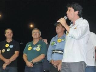 Em seu discurso, Dinis Pinheiro disse que o PT foi responsável pela perda de investimentos em Betim