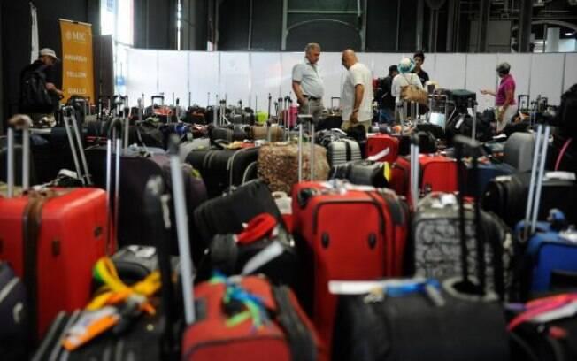 Novas regras para despacho de bagagem de mão começam a valer nesta segunda-feira em mais cinco aeroportos do Brasil