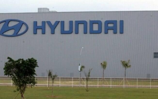 Fachada da fábrica da Hyundai, em Piracicaba (SP)