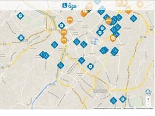 Aplicativo mostra locais onde está a polícia, onde houve acidentes e outras informações