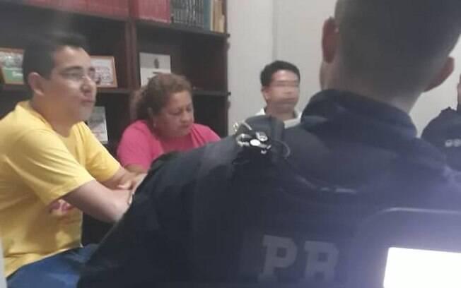 Agentes da PRF questionaram os presentes na reunião, em Manaus