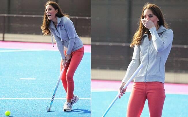 A Duquesa Kate Middleton volta aos tempos de moleca