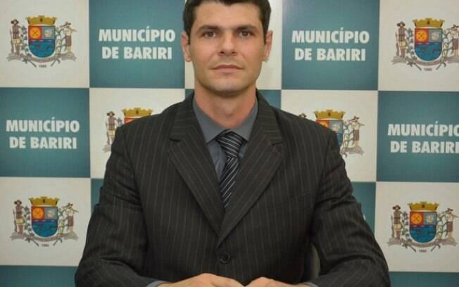 Paulo de Araújo, que é presidente da Câmara Municipal, está no cargo de prefeito de Bariri como interino desde 2017