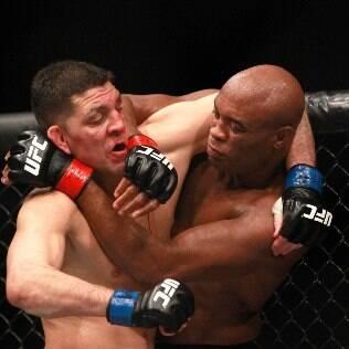 Por doping de Nick Diaz e Anderson Silva, resultado da luta de sábado será anulado